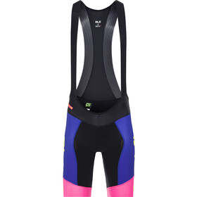 Alé Cycling R-EV1 Master Bib Shorts Men blue-fluo pink-fluo yellow